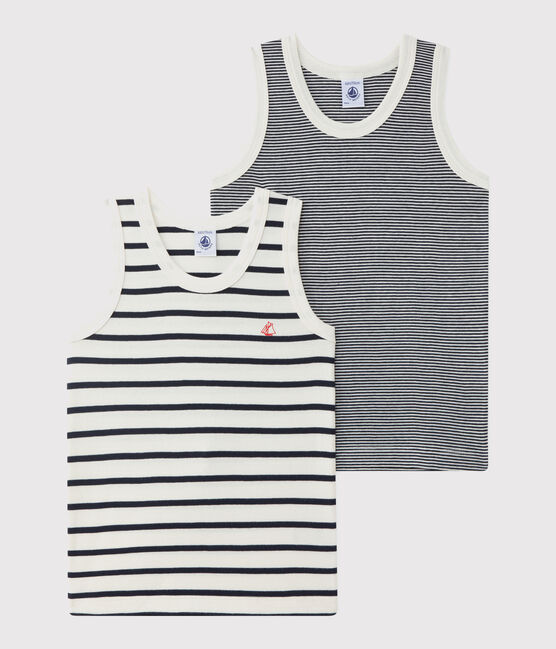 Boys' Striped Vests - 5-Piece Set . set