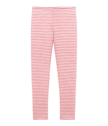 Little girl's wool and cotton leggings