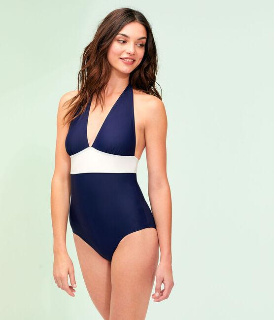 Women's Eco-Friendly Swimsuit Smoking blue