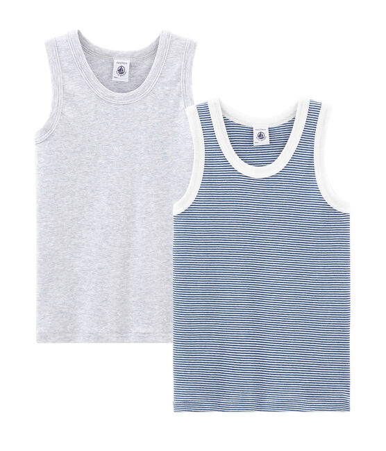 Boys' sleeveless vests - Set of 2 . set