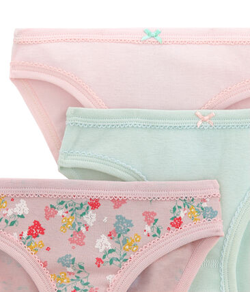 Little girl's pants trio