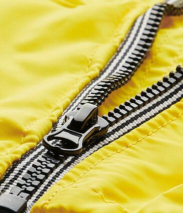 Unisex baby's yellow windbreaker Jaune yellow
