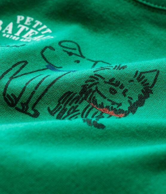 Baby Boys' Long-Sleeved T-Shirt Ecology green