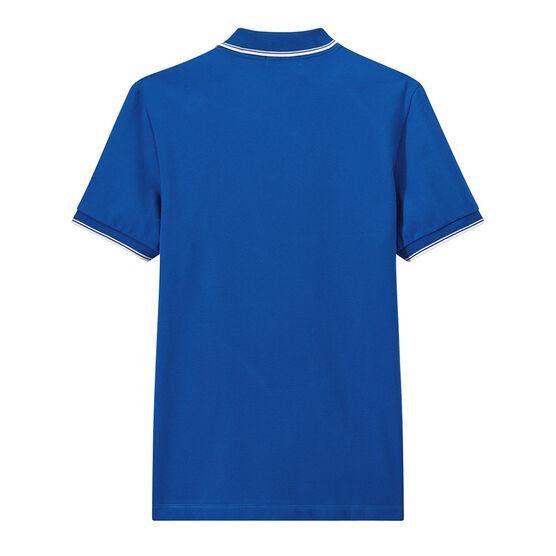 Men's short-sleeved polo shirt Riyadh blue