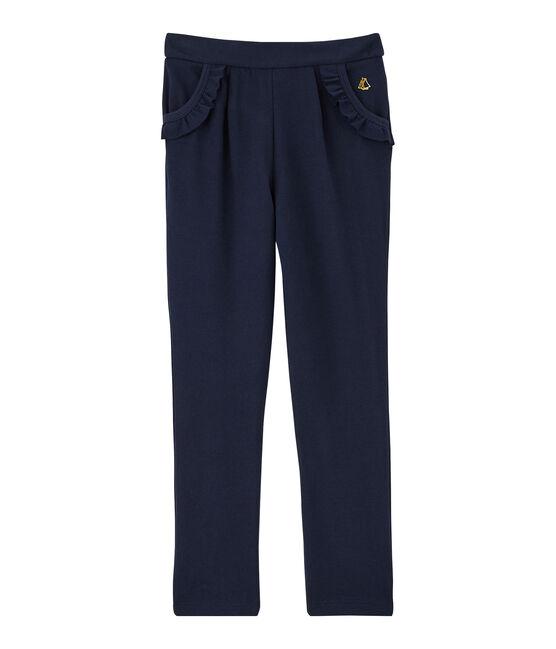 Girls' Knit Trousers Smoking Cn blue