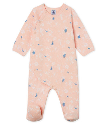 Baby Girls' Fleece Sleepsuit