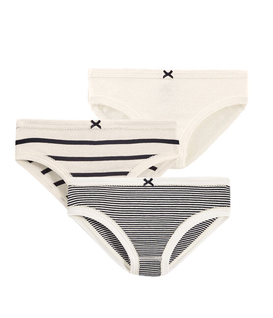 Girls' Striped Knickers - 3-Piece Set . set