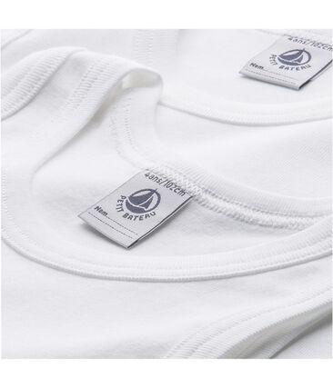 Pack of 2 boy's plain vest tops
