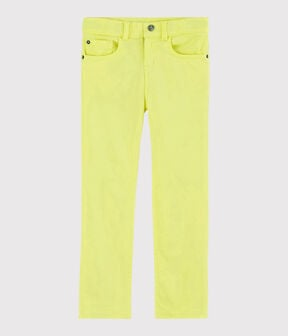 Boys' Serge Trousers Citronel yellow