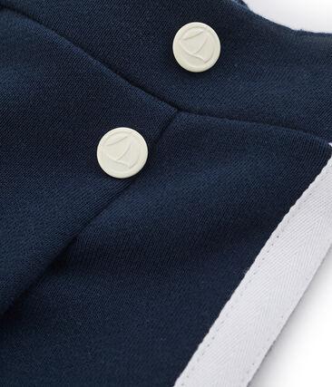 Girls' Trousers Haddock blue