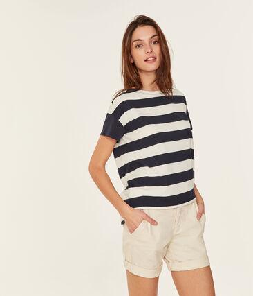Women's short-sleeved graphic t-shirt