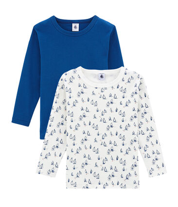 Little boy's long sleeved tee-shirtduo