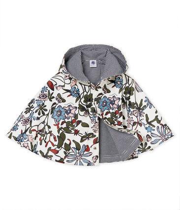 Unisex baby printed rain cape