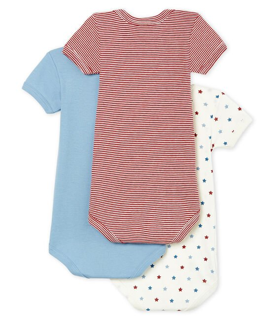Baby Boys' Short-Sleeved Bodysuit - 3-Piece Set . set