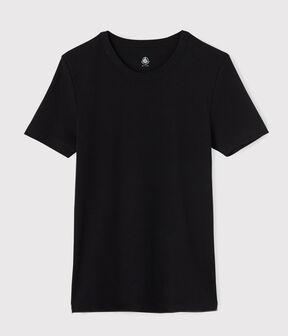 Men's short-sleeved T-shirt Noir black
