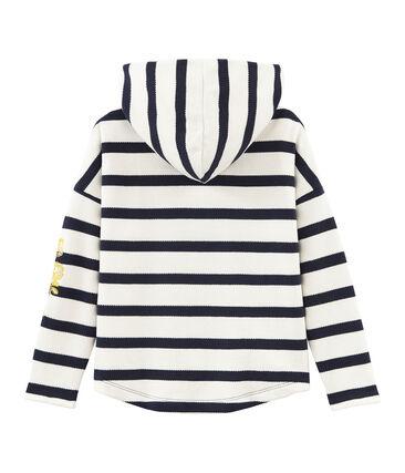 Girls' Hooded breton Top