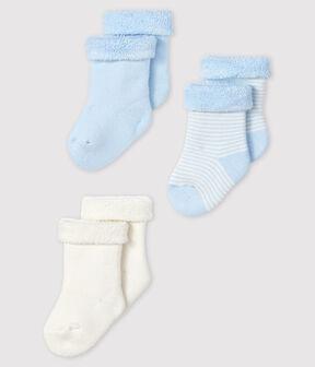 Knitted Babies' Socks - 3-Piece Set . set