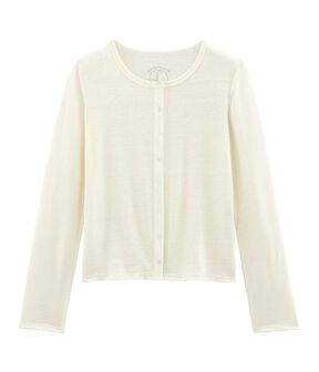 Women's Linen Cardigan Marshmallow white