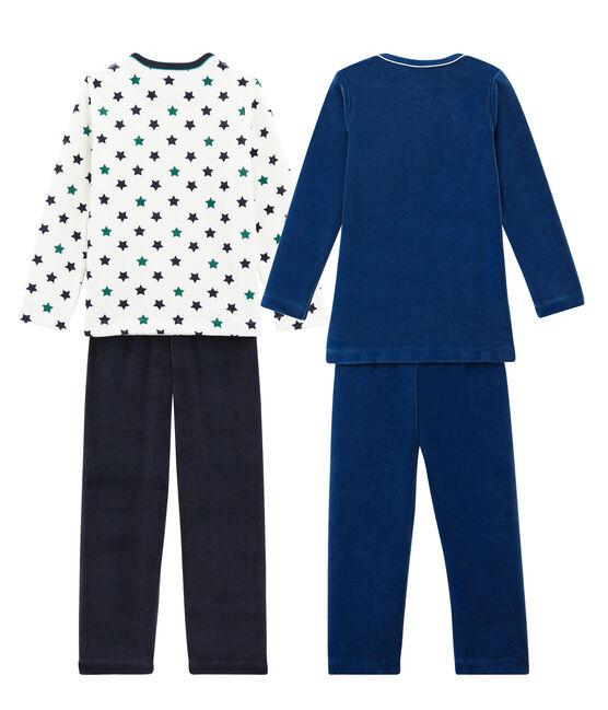 Boys' Warm Pyjamas - Set of 2 . set