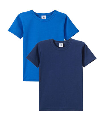 Set of 2 boy's short-sleeved t-shirts