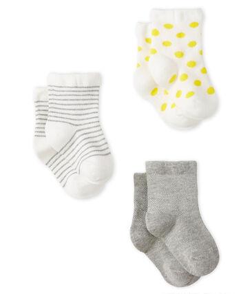 Baby Girls' Light Socks - 3-Piece Set