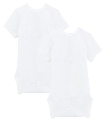 Babies' Short-Sleeved Bodysuit - 2-Piece Set