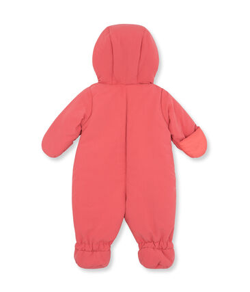 Mixed baby's microfibre snowsuit