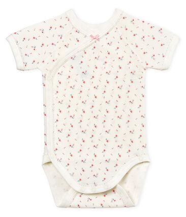Baby Girls' Short-Sleeved Newborn Bodysuit