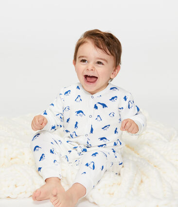 Baby Boys' Nightwear Set in Extra Warm Brushed Terry Towelling