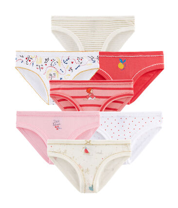Surprise pack of 7 pairs of pants for girls