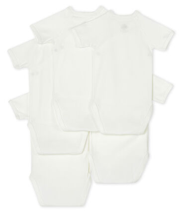 Newborn Babies' Short-Sleeved Bodysuit - 5-Piece Set . set