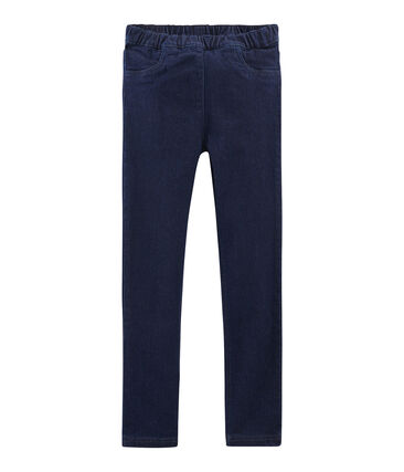 Girls Slim-fit Stretch Jeans Denim Bleu Fonce blue