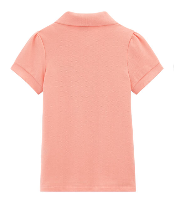 Girls' Short-sleeved Polo Shirt Rosako pink