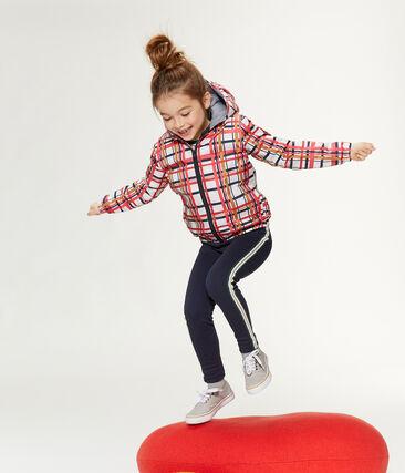 Unisex Children's Windbreaker Marshmallow white / Signal red