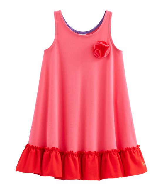 Girls' Dress Geisha red