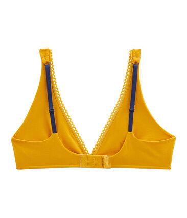 Women's Triangle Bra Boudor yellow