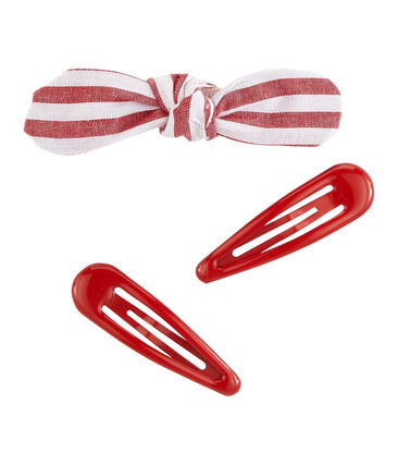 Set of hair accessories for girls . set