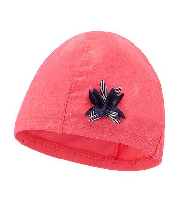 Girls' Swimming Cap Cupcake pink
