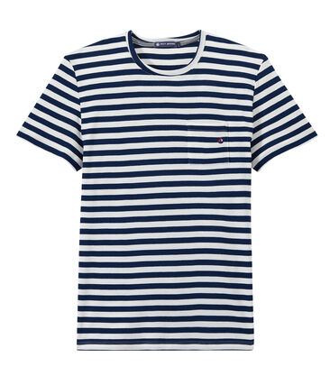 Men's two-tone striped tee