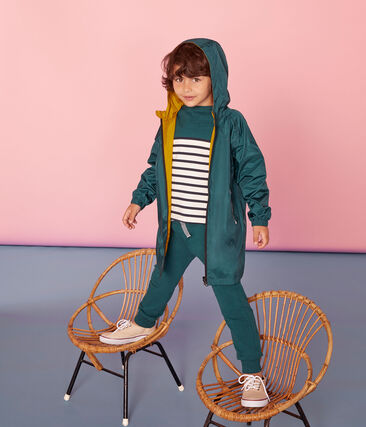 Unisex Children's Warm Reversible Windbreaker