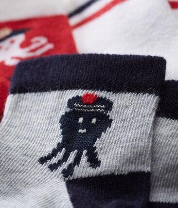 Baby boys' socks - pack of 3 . set