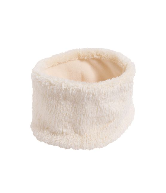 Baby Girl's Snood Marshmallow white