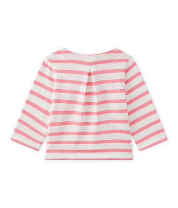 Baby girl's striped cardigan