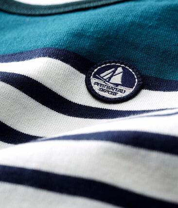 Baby boys' Shortie in heavy striped jersey