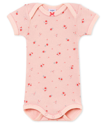 Baby girl's short sleeved body