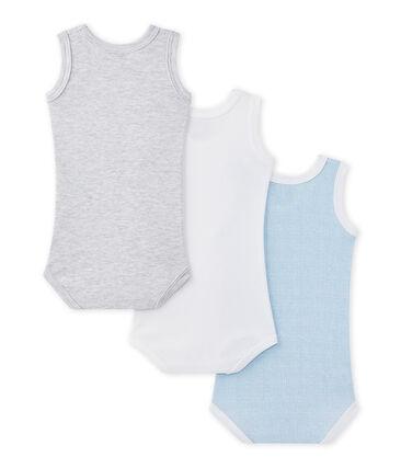 Pack of 3 baby's sleeveless bodysuits