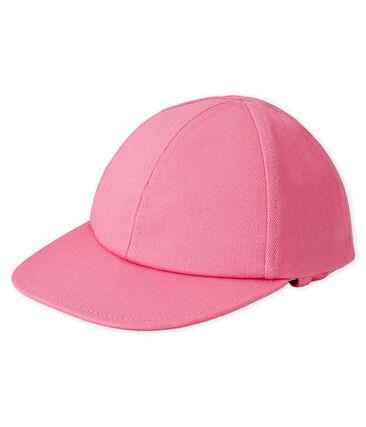 Sun cap for baby boys Groseiller pink