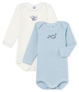 Baby Girls' Long-Sleeved Bodysuit - 2-Piece Set . set