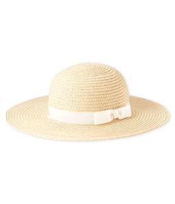 Baby girls' straw hat