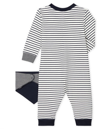 Baby Boys' Long Zipped Bodysuit . set